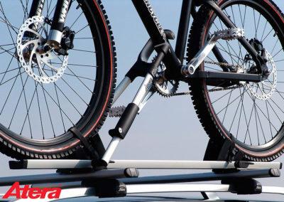 Atera velosipēdu turētāji